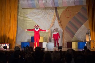 Спектакль «Цирк Пикассо». Фото Я. Кудрина