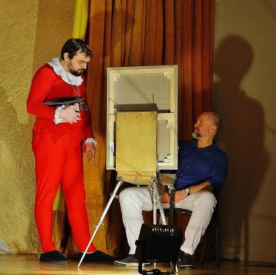 Спектакль «Цирк Пикассо». Фото: А. Карельского