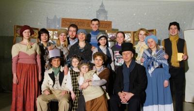 Спектакль «История про Скруджа» на ВВЦ